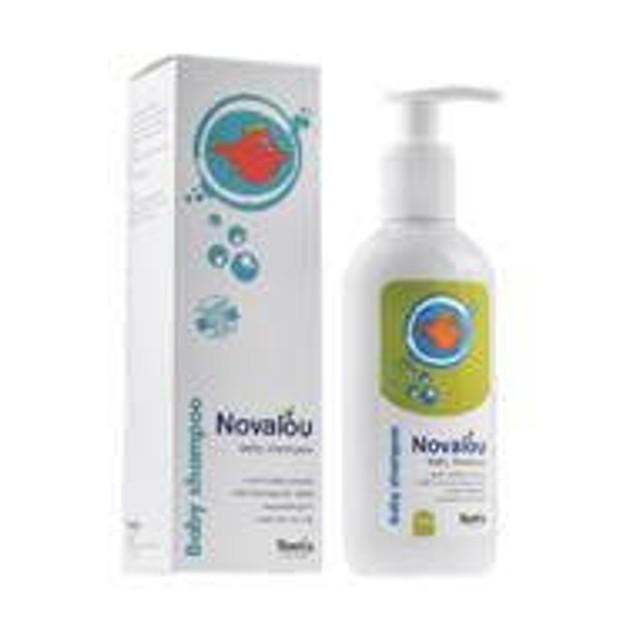 Novalou Baby Shampoo Για Το Καθημερινό Λούσιμο Βρεφών Και Παιδιών 200ml