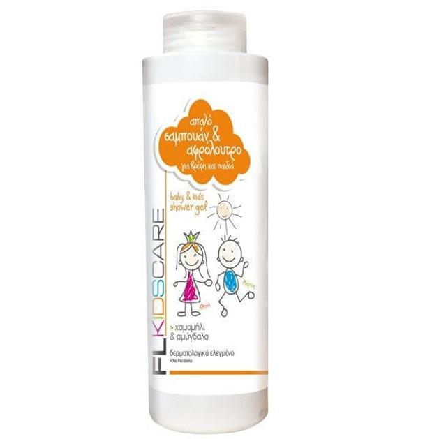 FL Products Baby Kids shower gel Απαλό Αφρόλουτρο Και Σαμπουάν Για Βρέφη Και Παιδιά 500ml