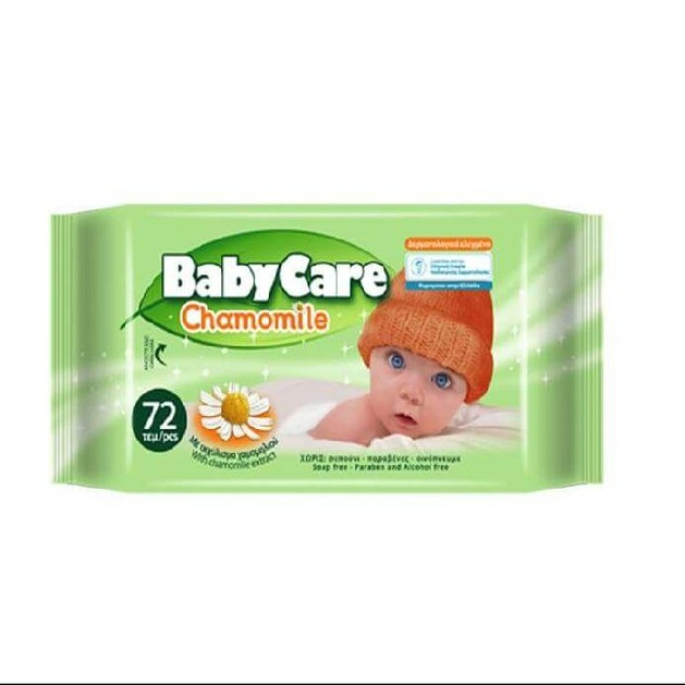 Baby Care Chamomile 72τεμ