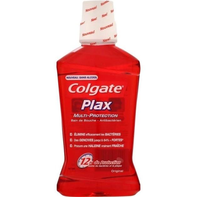 Colgate Plax Original Ήπιο Αντισηπτικό Στοματικό Διάλυμα 12ωρης Προστασίας 500ml