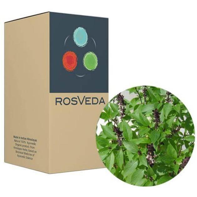 RosVeda Pure Essential Oil Basil 100% Φυτική Σύνθεση, Αιθέριο Έλαιο Βασιλικός, 10ml