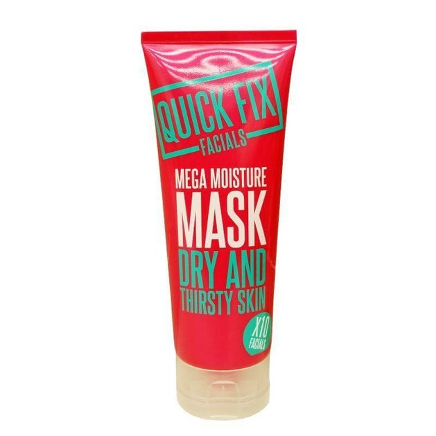 Quick Fix Facials Mega Moisture Mask Μάσκα Προσώπου για Πολύ Ξηρό/Διψασμένο Δέρμα 100ml