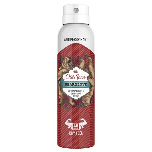 Old Spice Bearglove Antiperspirant & Deodorant Αντιιδρωτικό & Αποσμητικό Spray 150ml