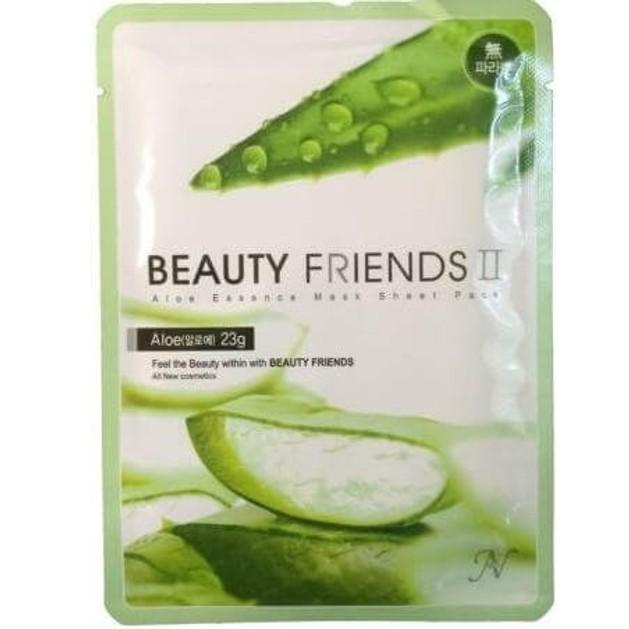 Aloe Essence Mask Sheet Pack Μάσκα Ομορφιάς με Aloe Vera 23g