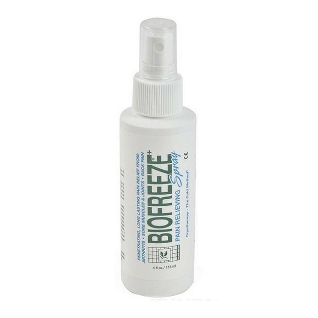 Biofreeze Spray Αναλγητικό Gel για Μυϊκούς και Σωματικούς Πόνους με τα Οφέλη της Κρυοθεραπείας 118ml