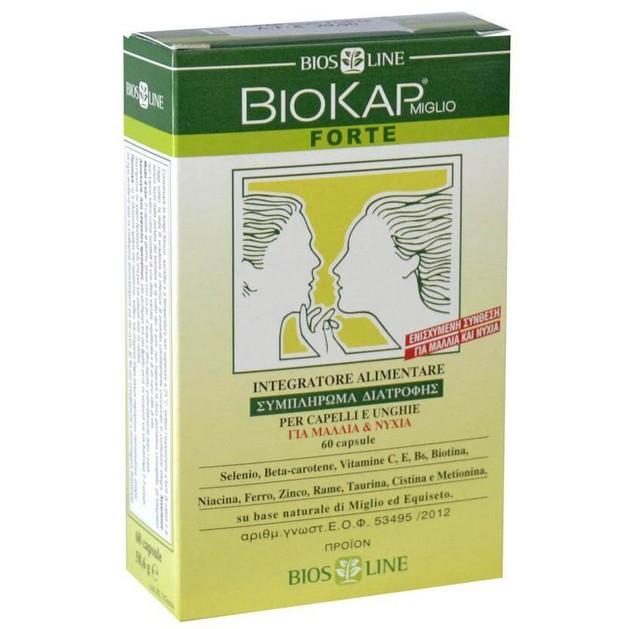 Biokap Συμπλήρωμα Διατροφής Για την Τριχόπτωση 60Caps