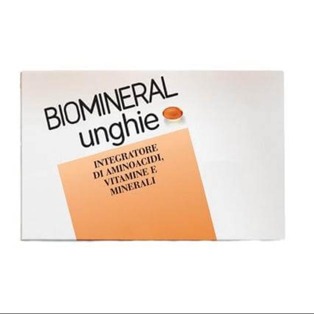Biomineral Συμπλήρωμα Διατροφής Unghie 30 Caps