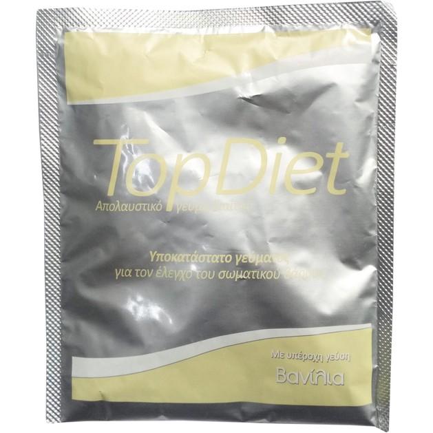 Δώρο Power Health Top Diet Vanillia Υποκατάστατο Γεύματος για τον Έλεγχο του Σωματικού Βάρους με Γεύση Βανίλια 1sachet x 35gr