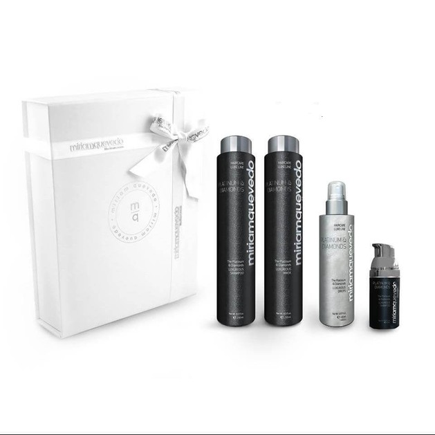 Miriam Quevedo Platinum & Diamonds Value Luxurious Drops 150ml + Shampoo 250ml + Mask 250ml + Serum 30ml