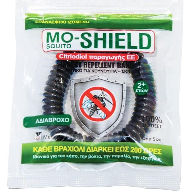 Menarini Mo-Shield Απωθητικό Βραχιόλι για Κουνούπια, Σκνίπες σε Διάφορα Χρώματα