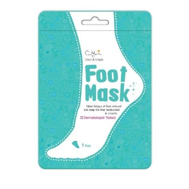Vican Cettua Foot Mask Μάσκα Ποδιών για Απαλή και Ορατά Αναζωογονημένη Επιδερμίδα 1τμχ