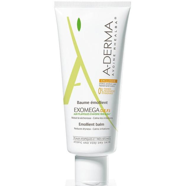 A-Derma Exomega Baume Emollient D.E.F.I. Μαλακτικό Βάλσαμο για Ευαίσθητα Ατοπικά Δέρματα 200ml & Δώρο Exomega Cleansing Gel 20ml