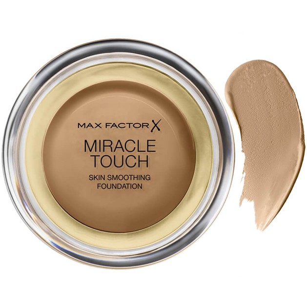 Max Factor Miracle Touch Foundation 85 Caramel  (make up)