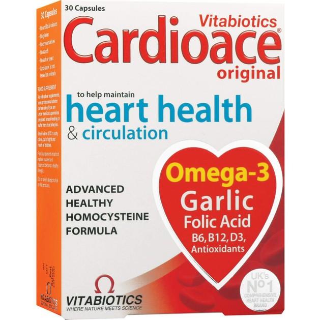 Cardioace 30caps - Vitabiotics