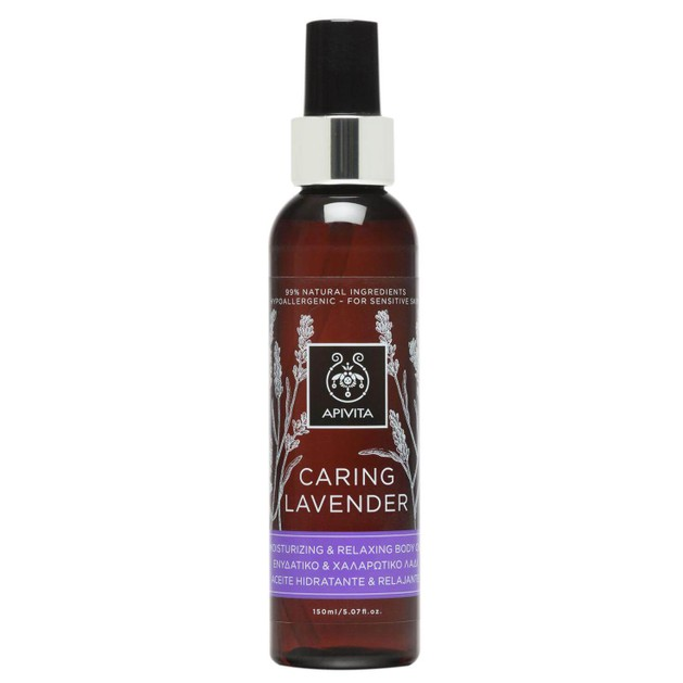 Apivita Caring Lavender Oil 150ml