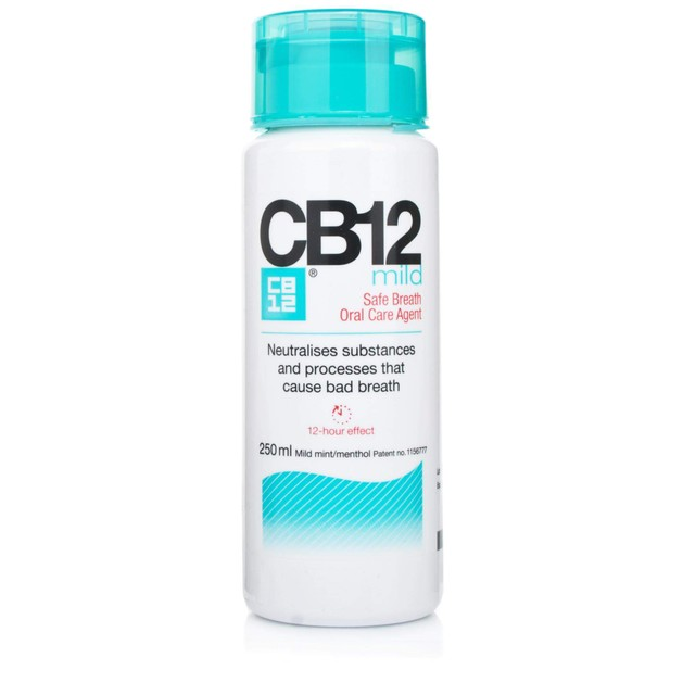 CB12 Στοματικό Διάλυμα για Ασφαλή Αναπνοή με Ήπια Γεύση Mild 250ml