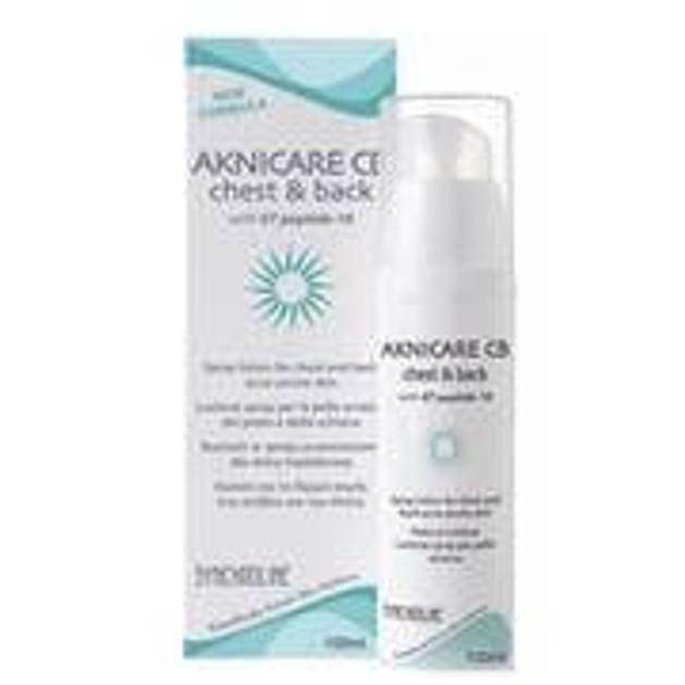 Synchroline Synchroline Aknicare CB Chest & Back Γαλάκτωμα Spray Για Θεραπεία Ακμής Στην Πλάτη Και Το Στέρνο 100ml