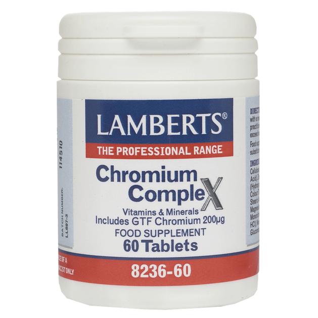 Lamberts Chromium Complex 60 tabs
