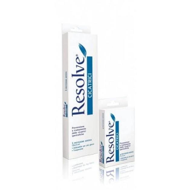 Resolve Cicatrici Πρόληψη  Και  Σχηματισμός Υπερτροφικών Και Χηλοειδών Ουλών 4τμχ 7x5cm