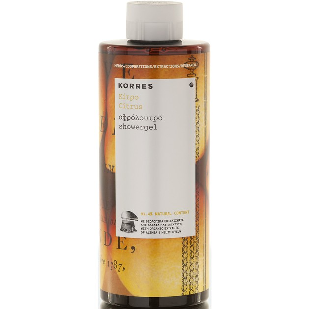 Korres Citrus Showergel 250ml