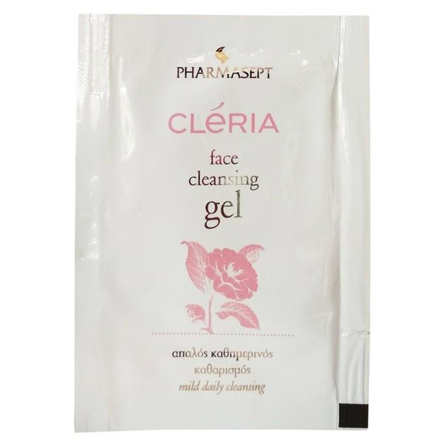 Δείγμα Pharmasept Cleria Face Cleansing & Demake-up Gel 3ml
