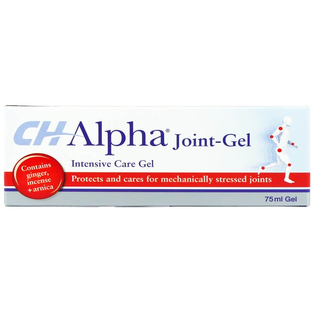 CH-Alpha Joint-Gel Εξαιρετικό Προϊόν Εξωτερικής Χρήσης για Ανακούφιση από Μυοσκελετικούς Πόνους 75ml