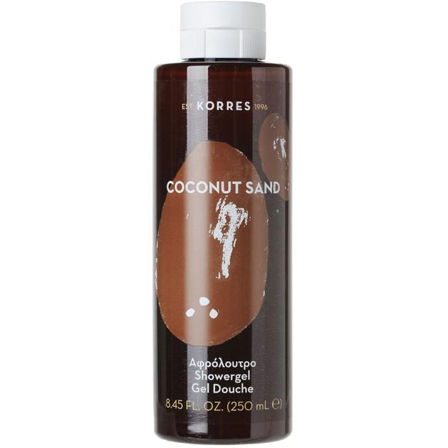 Korres Showergel Coconut Sand 250ml