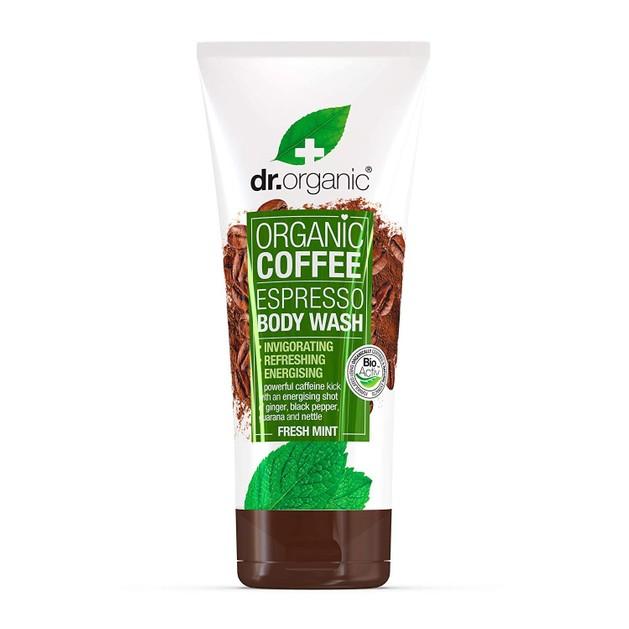 Dr. Organic Coffee Espresso Body Wash with Fresh Mint Αφρόλουτρο 200ml