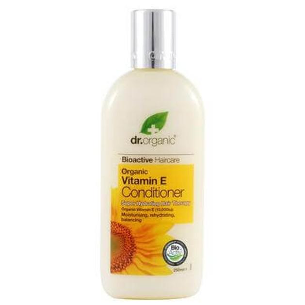 Dr Organic Organic Vitamin E Conditioner Μαλακτική Κρέμα Μαλλιών με Βιταμίνη E 265ml
