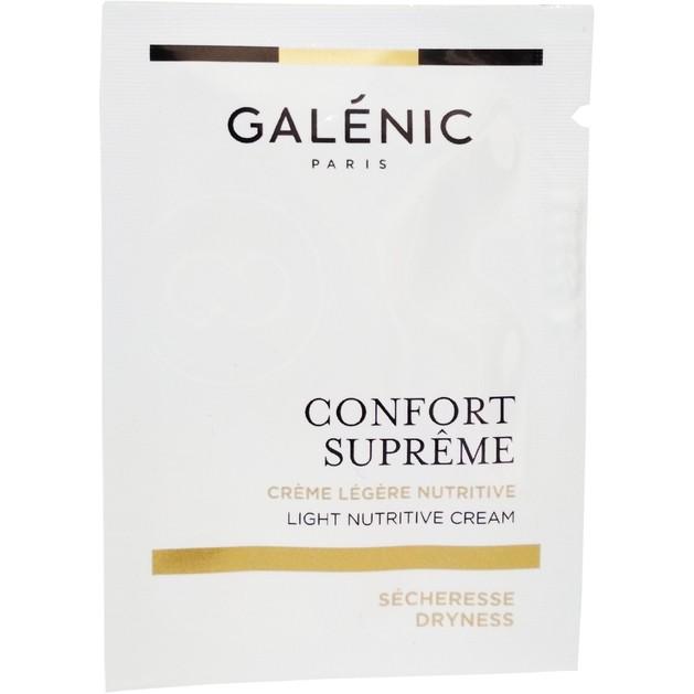 Δείγμα Galenic Confort Supreme Light Nutritive Cream PNM Απαλή Λεπτόρρευστη Κρέμα Θρέψης για Κανονικές - Μικτές Επιδερμίδες 2ml