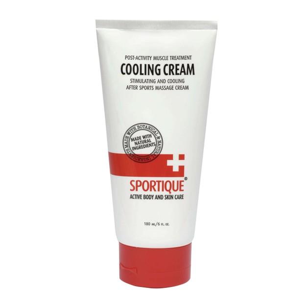 Sportique Cooling Cream Θεραπεία Των Μυων Μετά Την Άσκηση 180ml