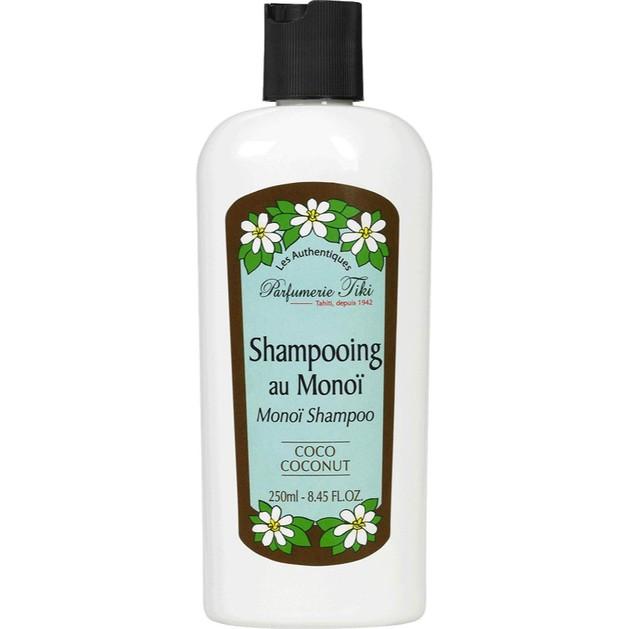 Monoi Tiki Shampooing Au Monoi Coconut Σαμπουάν για Ξηρά/Κατεστραμμένα Μαλλιά με Άρωμα Καρύδας 250ml