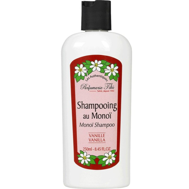 Monoi Tiki Shampooing Au Monoi Σαμπουάν για Ξηρά/Κατεστραμμένα Μαλλιά με Άρωμα Βανίλιας 250ml
