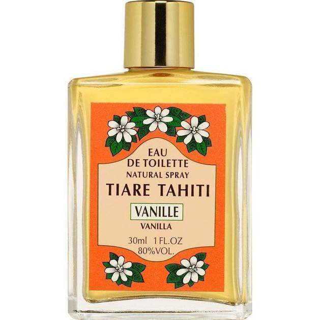 Monoi Tiki Eau De Toilette Tiki Tahiti Vanilla Άρωμα Βανίλιας 30ml