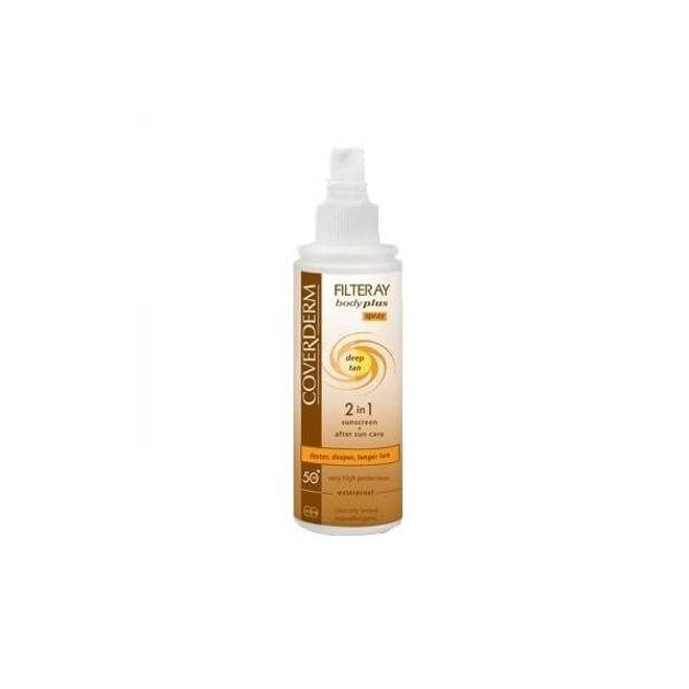 Coverdern Filteray Body Plus Deep Tan Spray Spf30 Επιταχύνει το Μαύρισμα 100ml