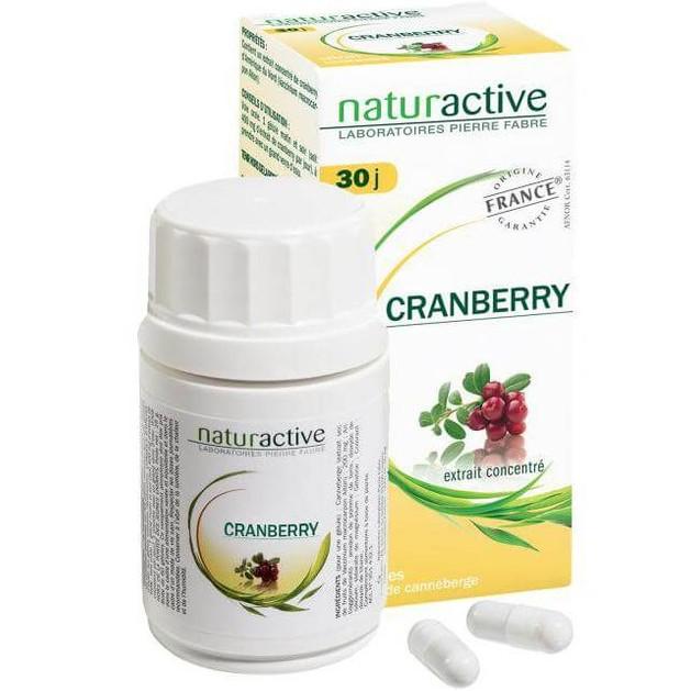 Naturactive Cranberry Συμπλήρωμα Διατροφής με Κράνμπερυ για την Πρόληψη Ουρολοιμώξεων 60caps