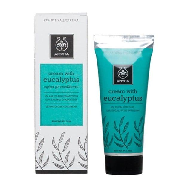 Apivita Herbal Cream With Eucalyptus 40ml