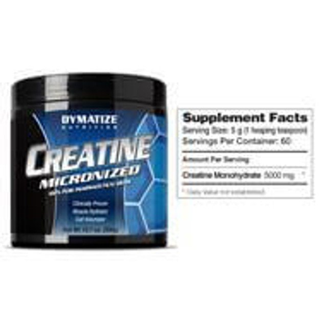 Dymatize Creatine Monohydrate  Αντοχή Και Ενέργεια Για Απαιτητικές Προπονήσεις  300 gr