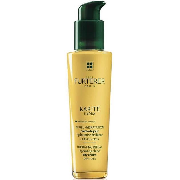 Rene Furterer Karite Hydra Ενυδατική Κρέμα Ημέρας Λάμψης για Ξηρά Μαλλιά 100ml