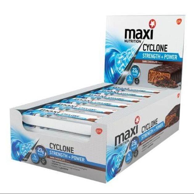 Maximuscle Cyclone Strength Power Bar Μπάρα Πρωτείνης Και Κρεατίνης 1τεμάχιο