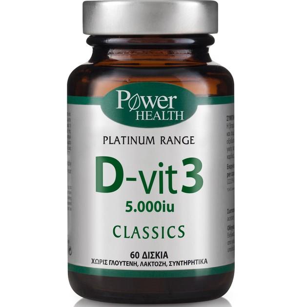 Power Health Platinum D-Vit 3 60tabs