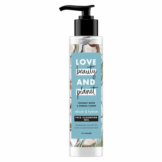 Love Beauty & Planet Face Cleansing Coconut Gel 125ml
