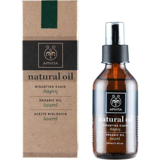 Apivita Natural Oil Laurel 100ml