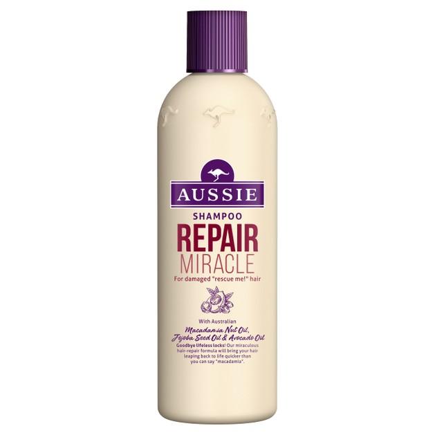 Aussie Repair Miracle Shampoo Damage Control Σαμπουάν Επανόρθωσης για Ταλαιπωρημένα Μαλλιά 300ml