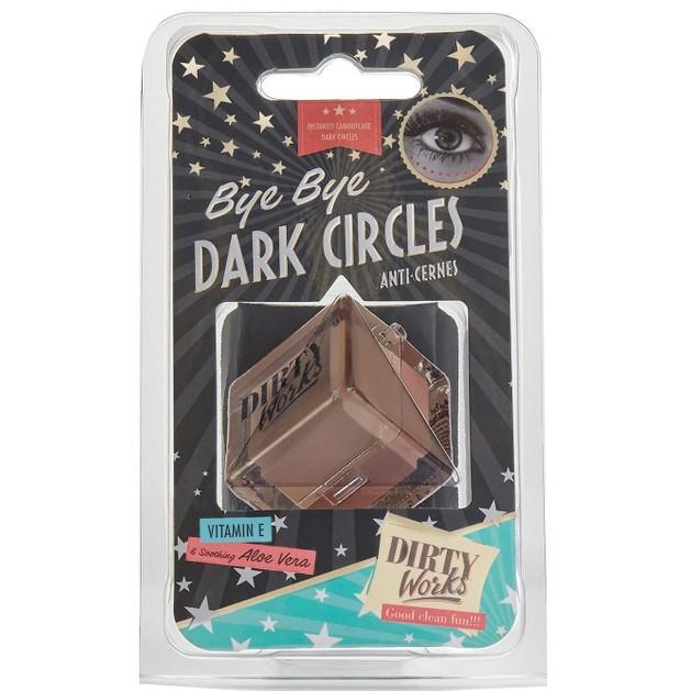Dirty Works Bye Bye Dark Circles Concealer 2x4.5gr