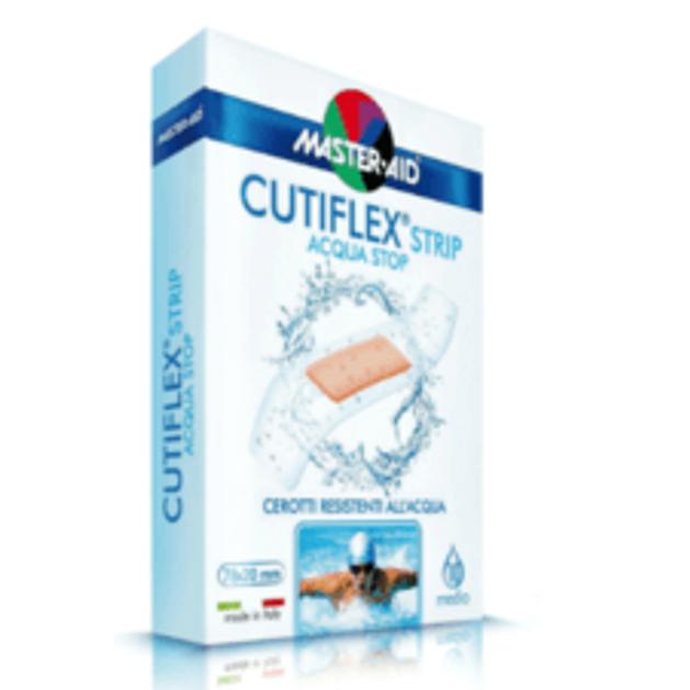 Master Aid Cutiflex Strip Αδιάβροχες, Αυτοκόλλητες Γάζες 10 pcs