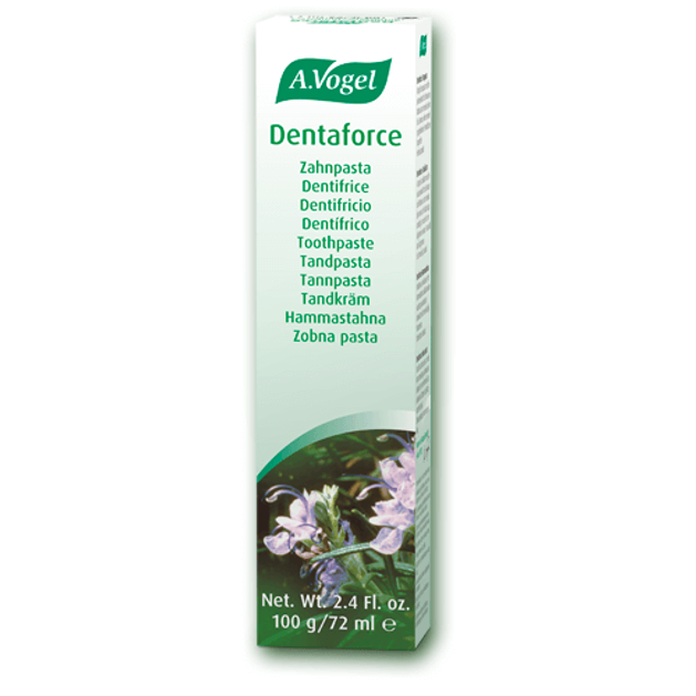 A.Vogel Dentaforce Toothpaste Εκχυλίσματα Βοτάνων Που Βοηθούν Στη Διατήρηση Της Στοματικής Υγιεινής 100gr