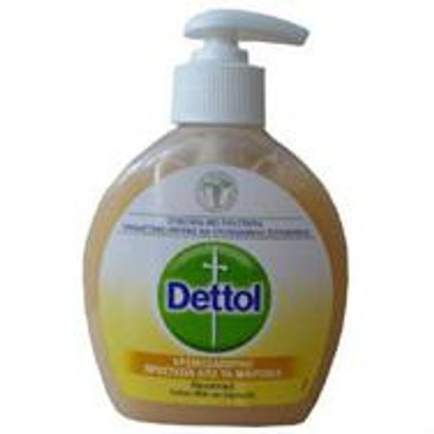 Dettol Κρεμοσάπουνο, Θρεπτικό Cotton Milk και Χαμομήλι 250ml