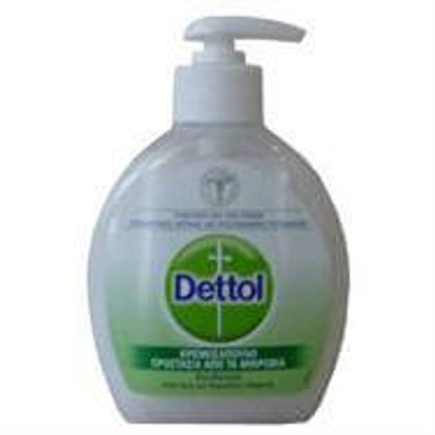 Dettol Κρεμοσάπουνο Ενυδατικό Aloe Vera και Πρωτεΐνες Γάλακτος 250ml
