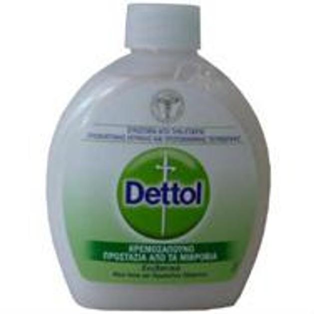 Dettol ανταλλακτικό Κρεμοσάπουνο Ενυδατικό Aloe Vera και Πρωτεΐνες Γάλακτος 250m